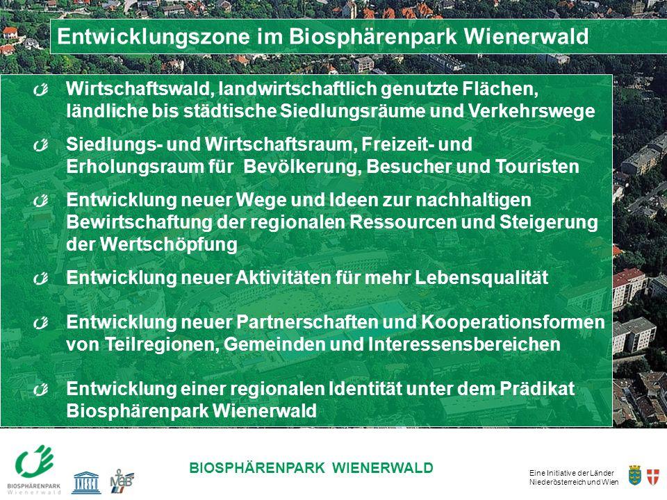 Entwicklungszone im Biosphärenpark Wienerwald