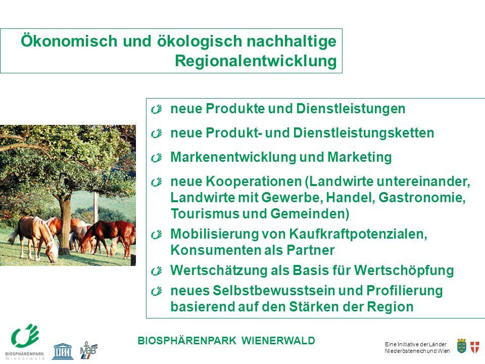 Ökonomisch und ökologisch nachhaltige Regionalentwicklung
