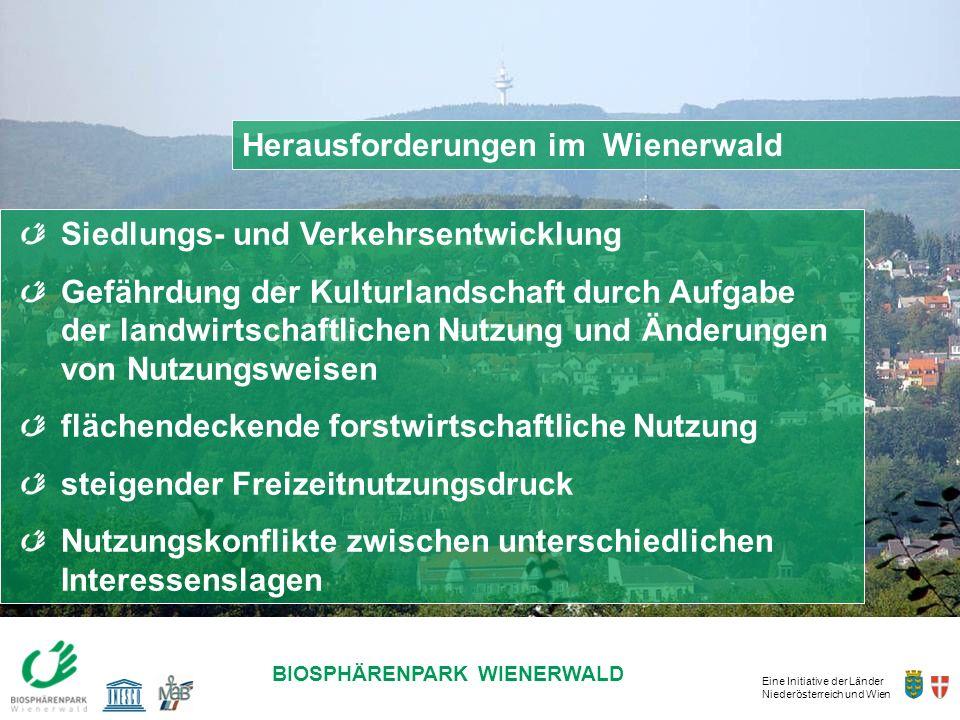 Herausforderungen im Wienerwald