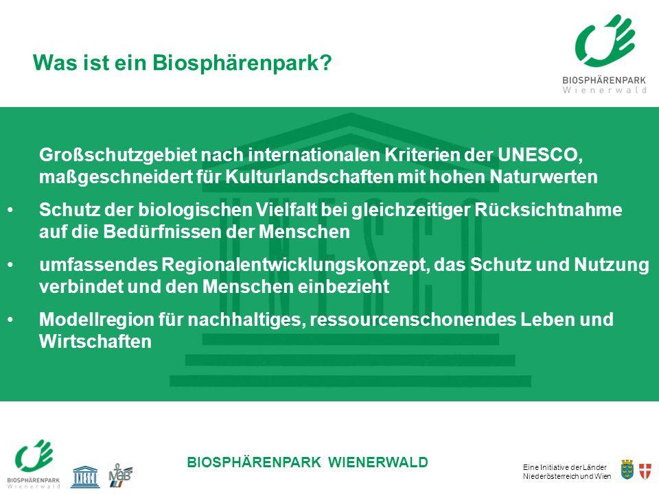 Was ist ein Biosphärenpark