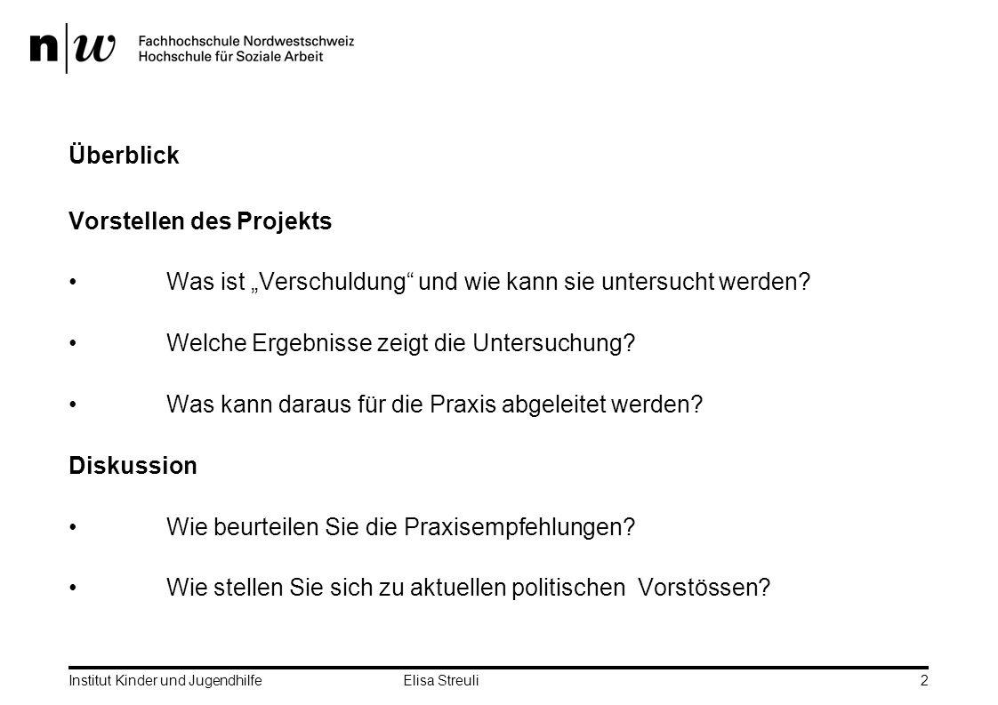Vorstellen des Projekts