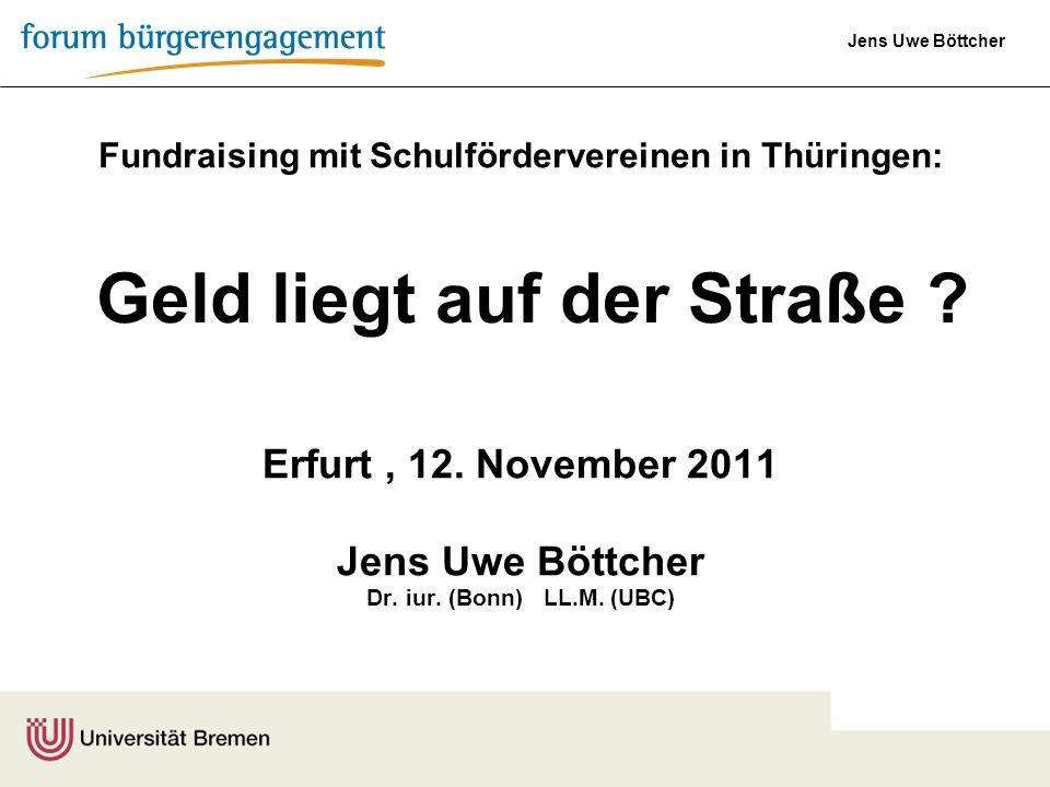 Fundraising mit Schulfördervereinen in Thüringen: