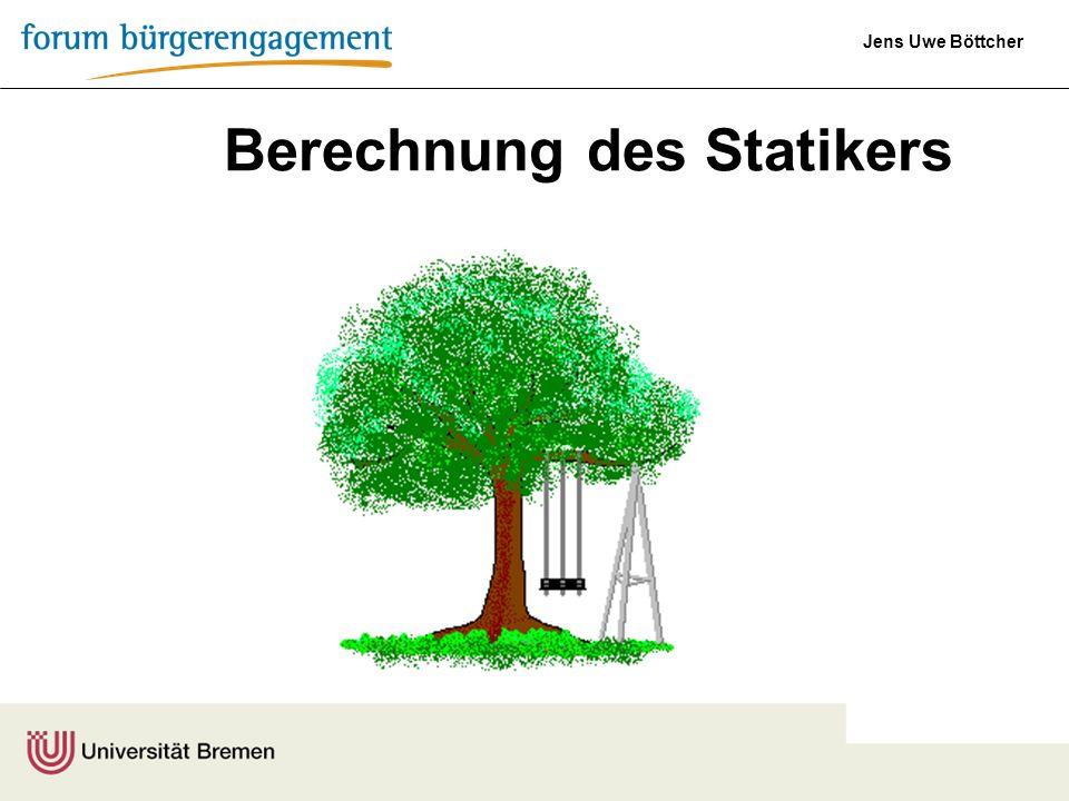 Berechnung des Statikers