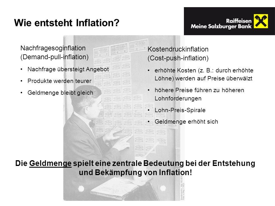 Wie entsteht Inflation