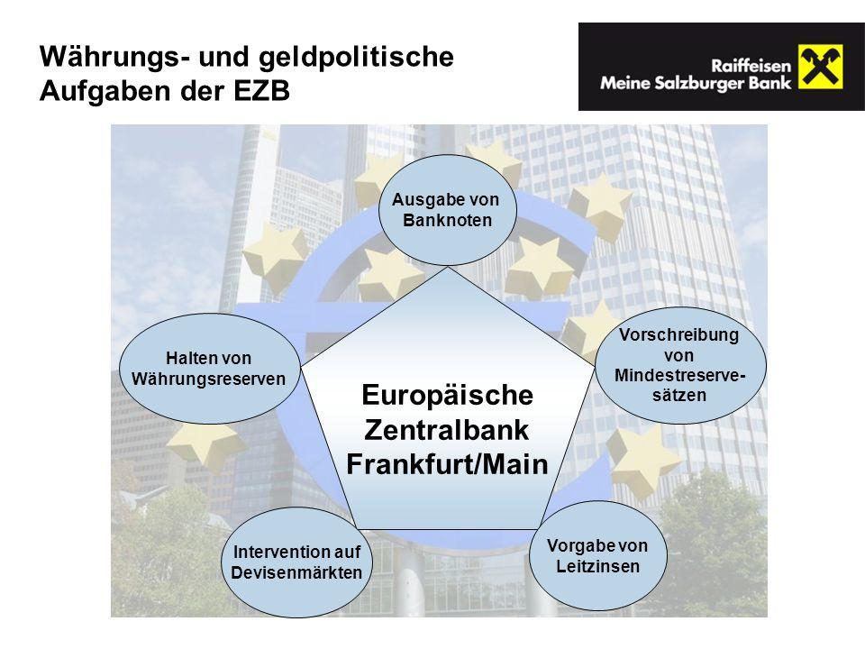 Europäische Zentralbank Frankfurt/Main