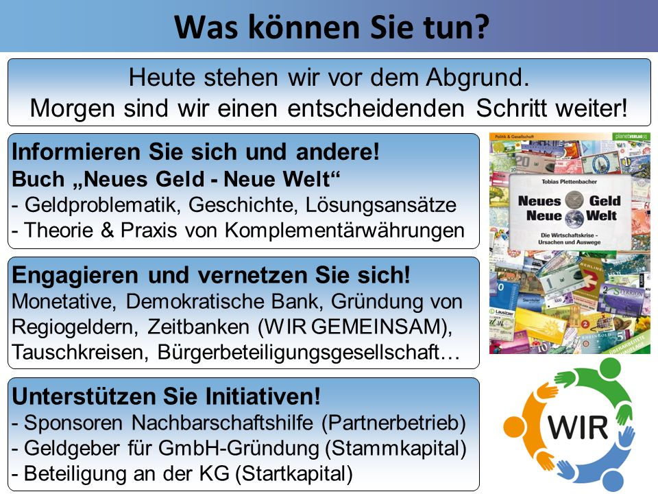 Tobias Plettenbacher - Regionale Alternativen zur Globalisierung 15