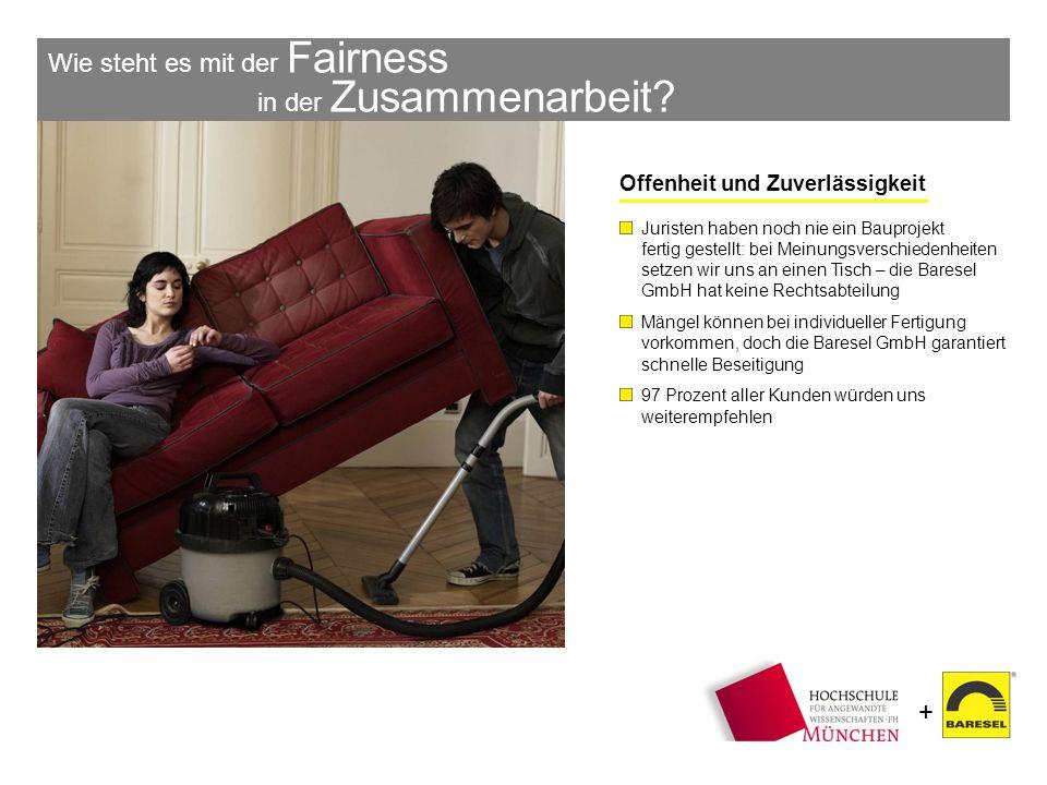 Wie steht es mit der Fairness in der Zusammenarbeit