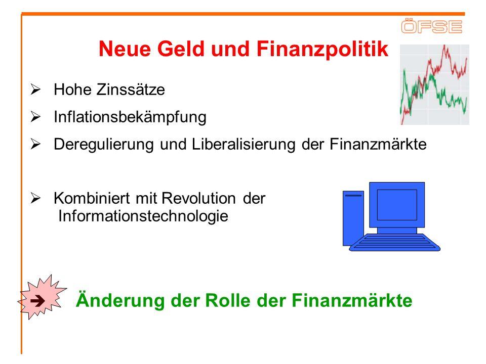 Neue Geld und Finanzpolitik