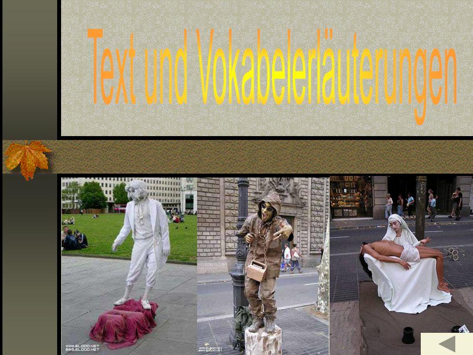 Text und Vokabelerläuterungen