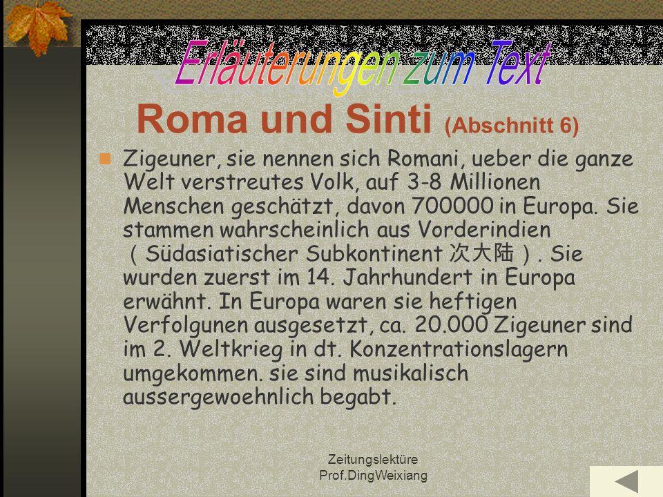 Roma und Sinti (Abschnitt 6)