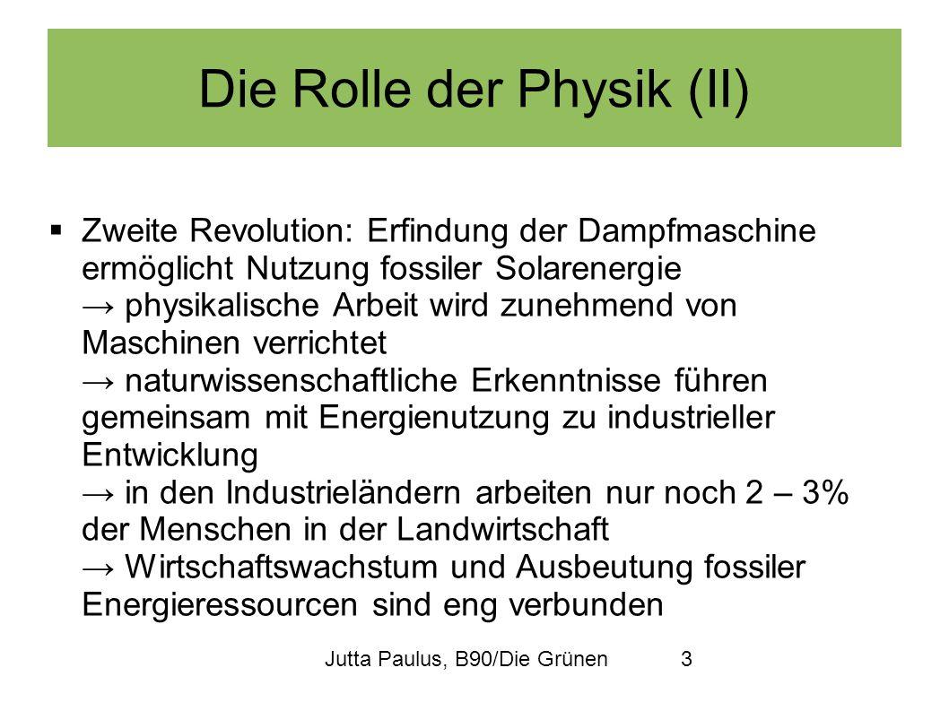 Die Rolle der Physik (II)