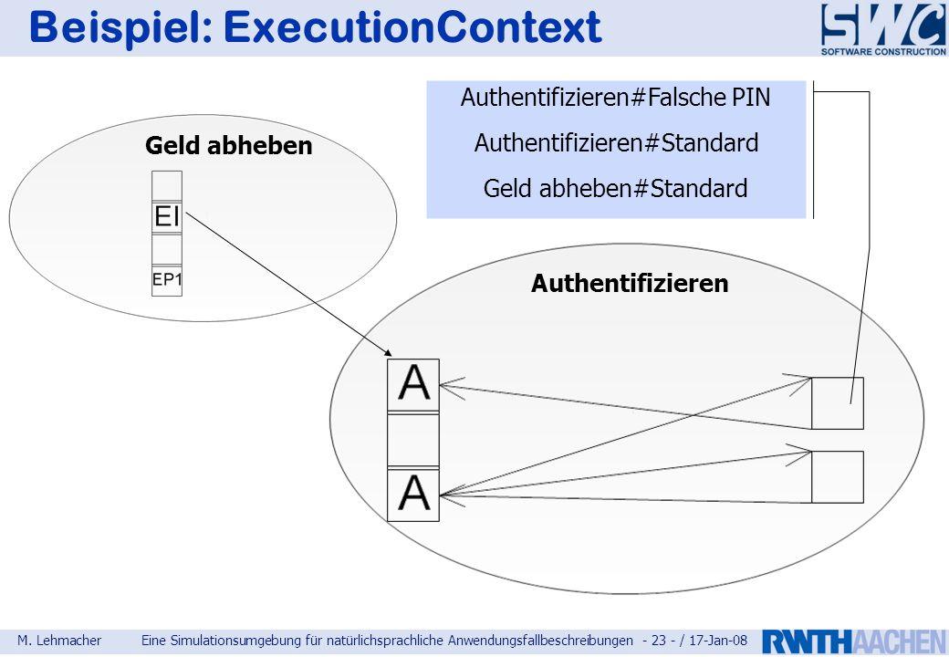 Beispiel: ExecutionContext