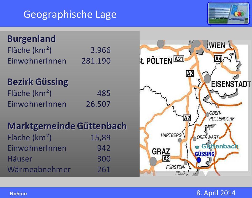 Geographische Lage Burgenland Bezirk Güssing Marktgemeinde Güttenbach