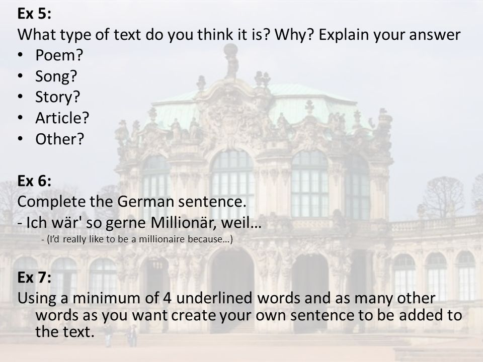 What type of text do you think it is Why Explain your answer Poem