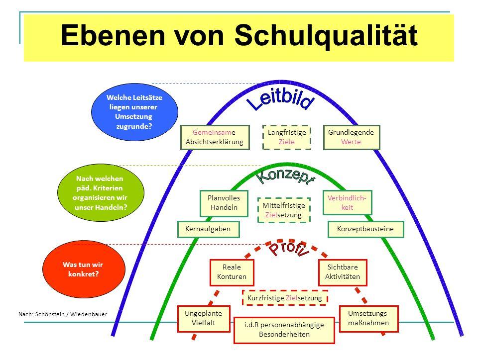 Ebenen von Schulqualität