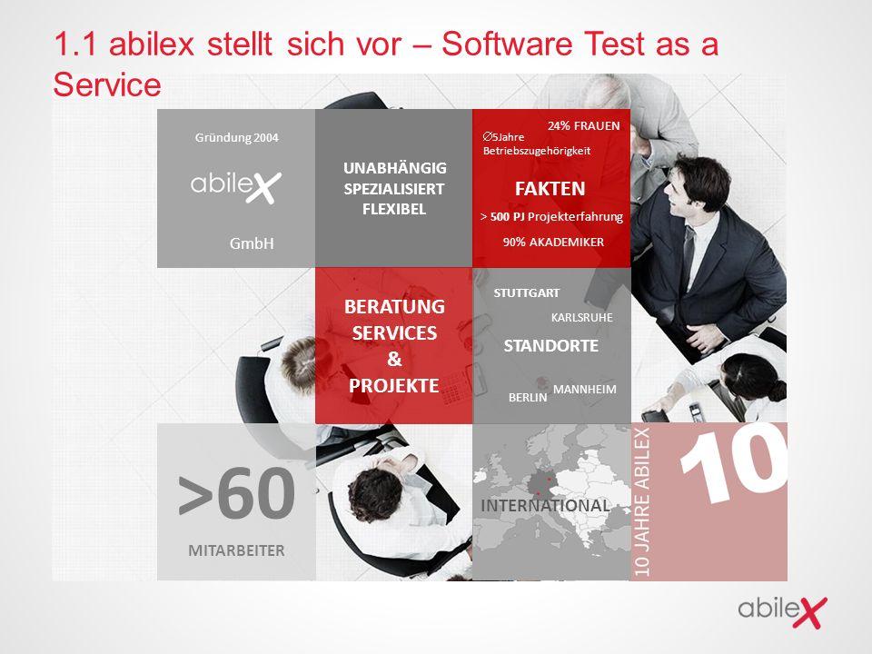 1.1 abilex stellt sich vor – Software Test as a Service