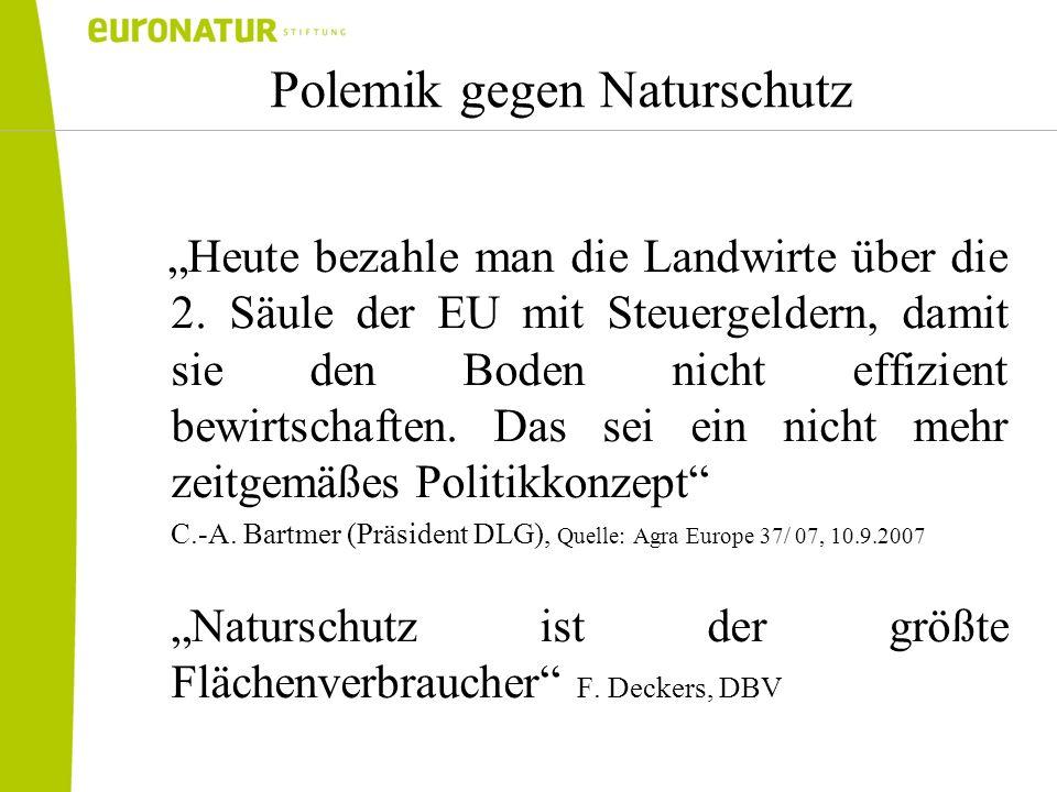 Polemik gegen Naturschutz