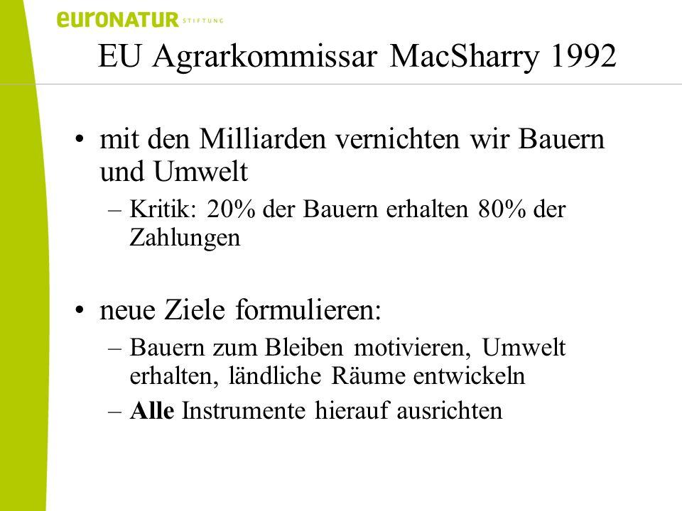 EU Agrarkommissar MacSharry 1992