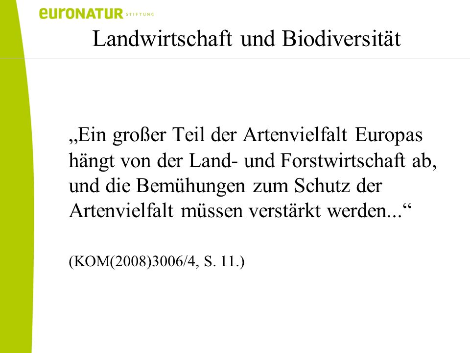 Landwirtschaft und Biodiversität