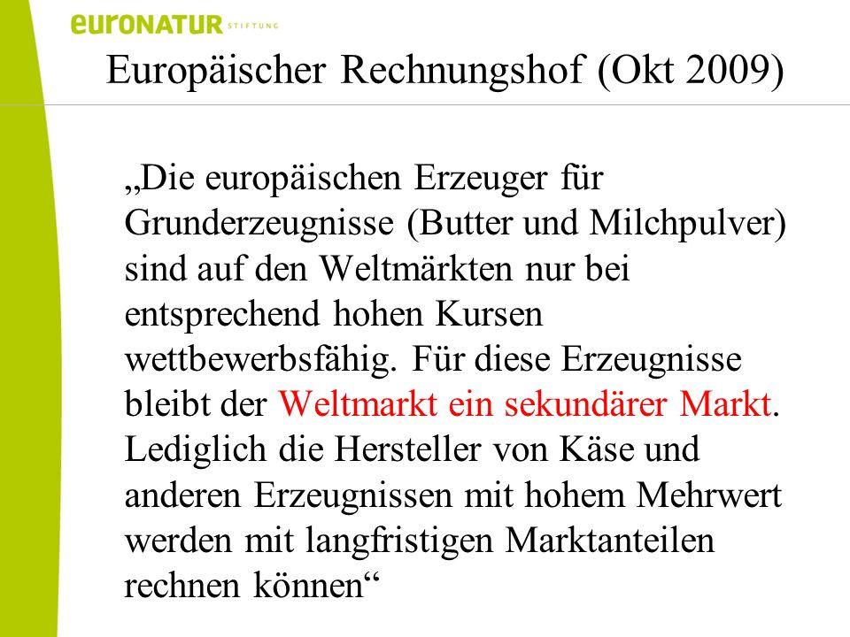 Europäischer Rechnungshof (Okt 2009)