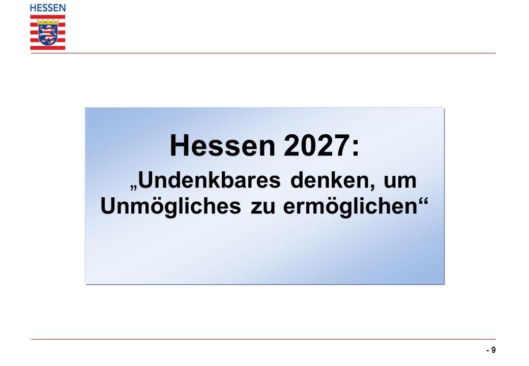 Hessens Weg von der Industrie-Ökonomie zur Wissens-Ökonomie
