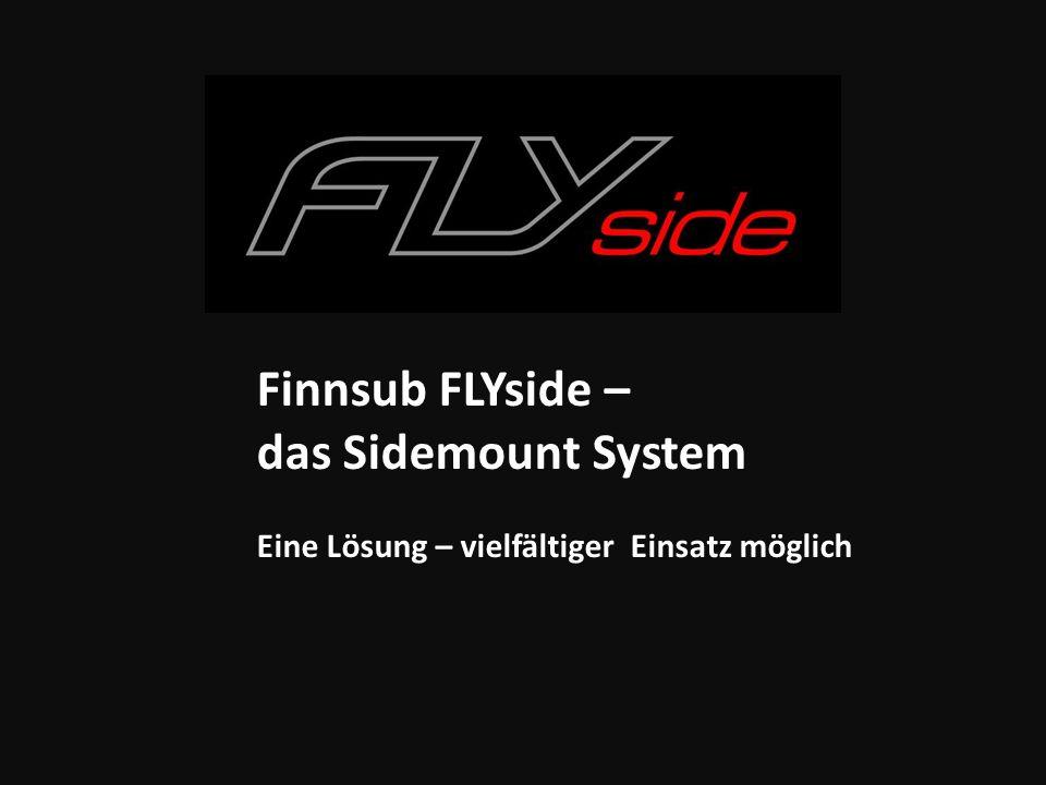 Finnsub FLYside – das Sidemount System