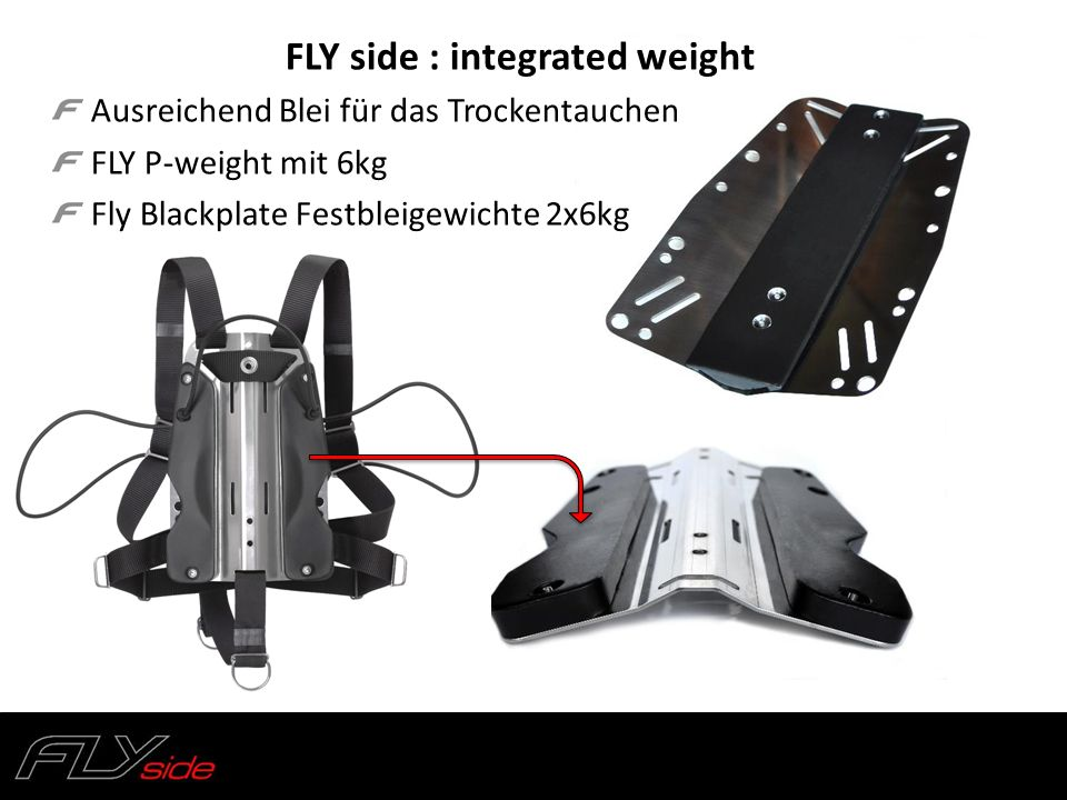 FLY side : integrated weight