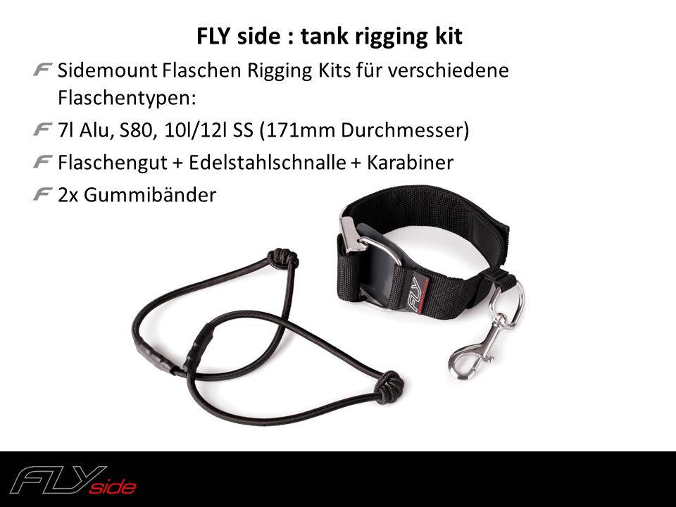 FLY side : tank rigging kit