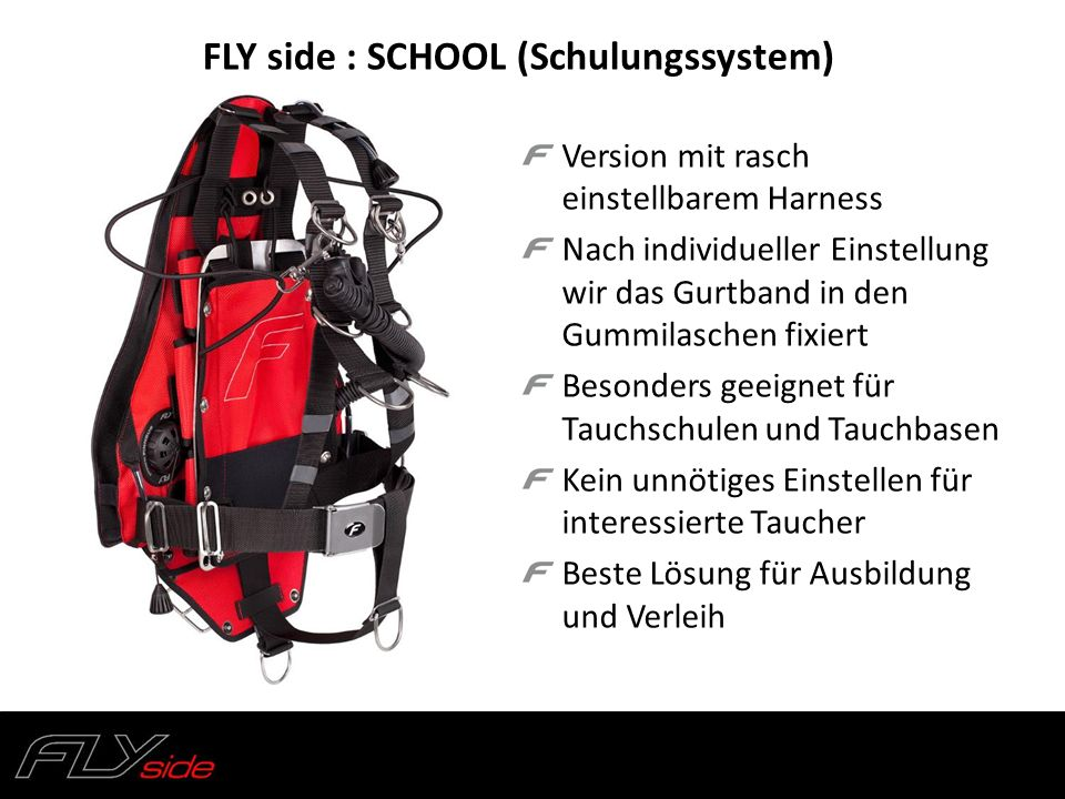 FLY side : SCHOOL (Schulungssystem)