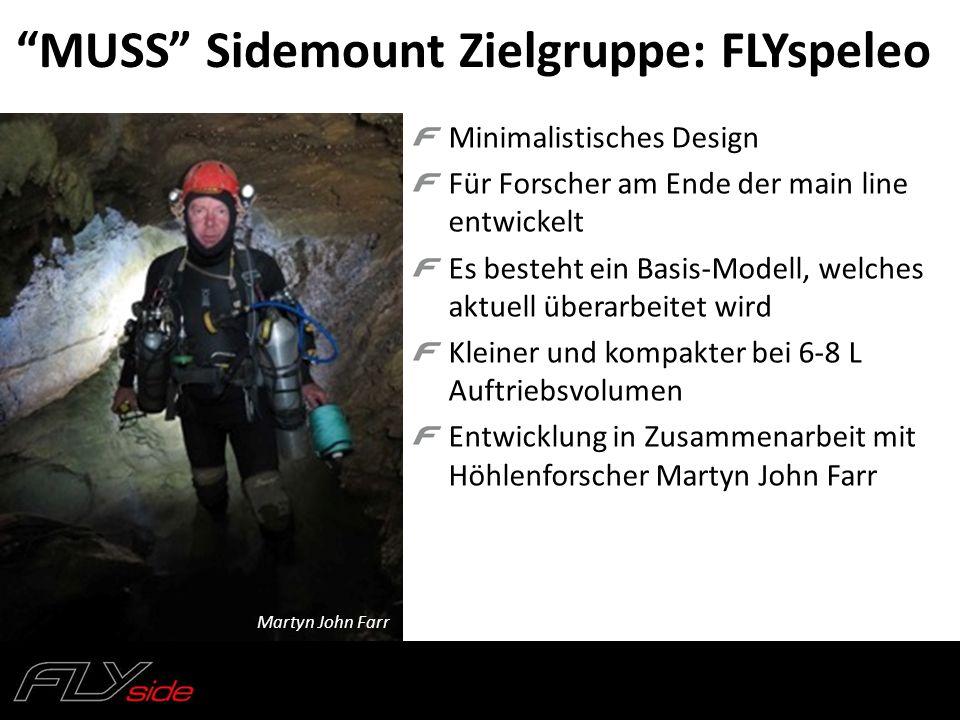 MUSS Sidemount Zielgruppe: FLYspeleo
