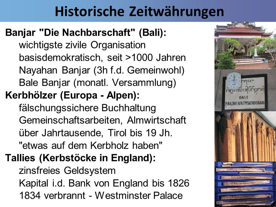 Historische Zeitwährungen