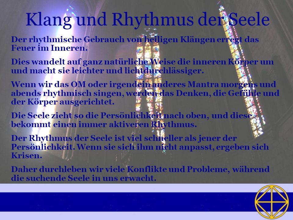 Klang und Rhythmus der Seele