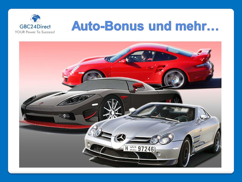Auto-Bonus und mehr…