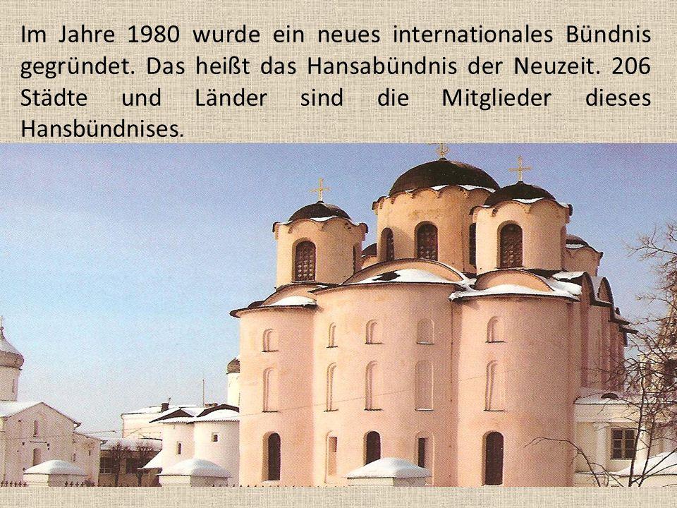 Im Jahre 1980 wurde ein neues internationales Bündnis gegründet