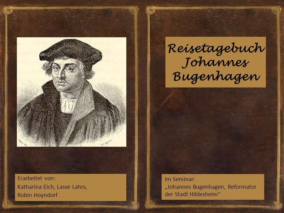 Reisetagebuch Johannes Bugenhagen