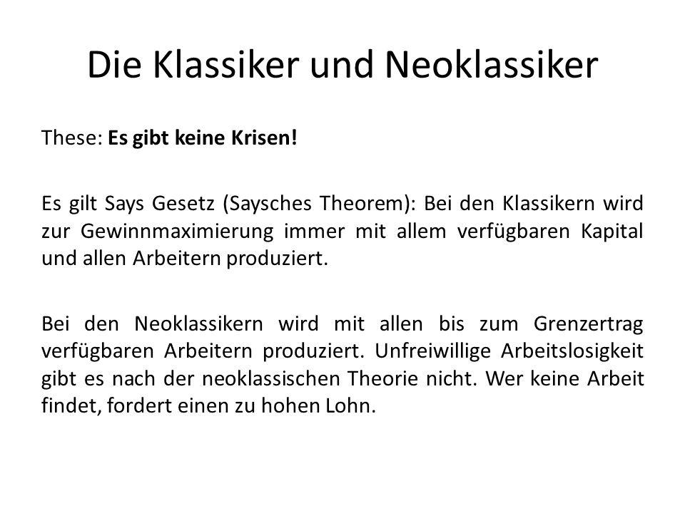 Die Klassiker und Neoklassiker