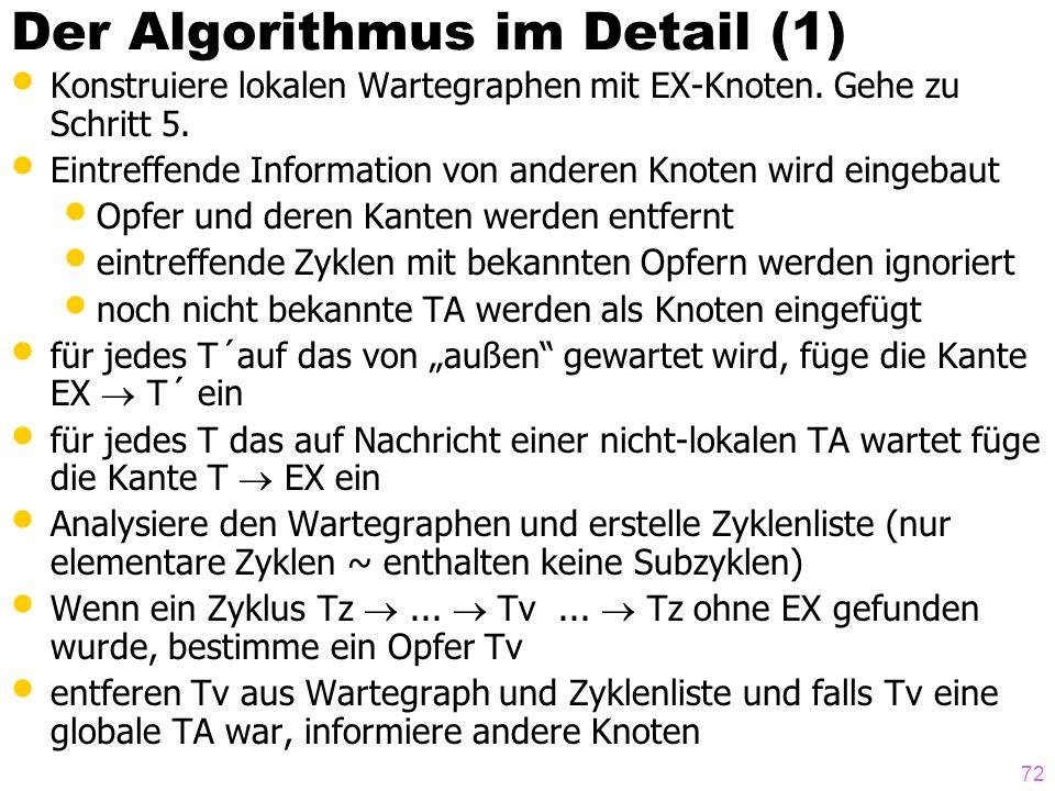 Der Algorithmus im Detail (1)