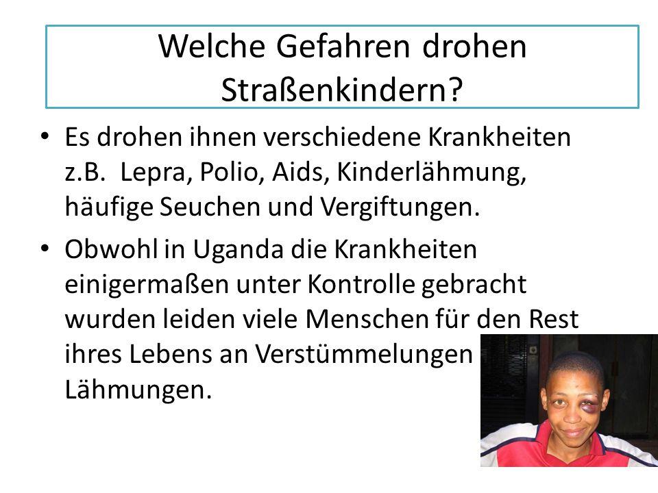 Welche Gefahren drohen Straßenkindern