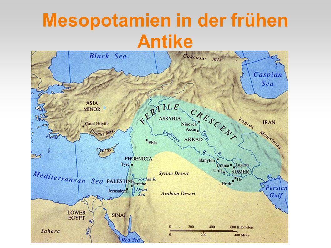 Mesopotamien in der frühen Antike
