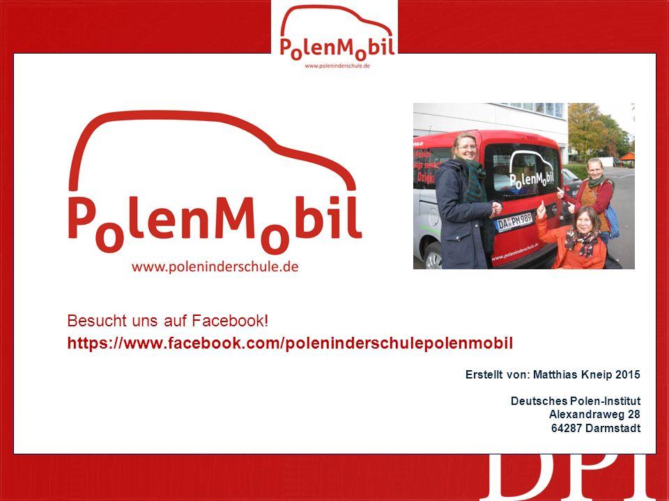 Besucht uns auf Facebook!
