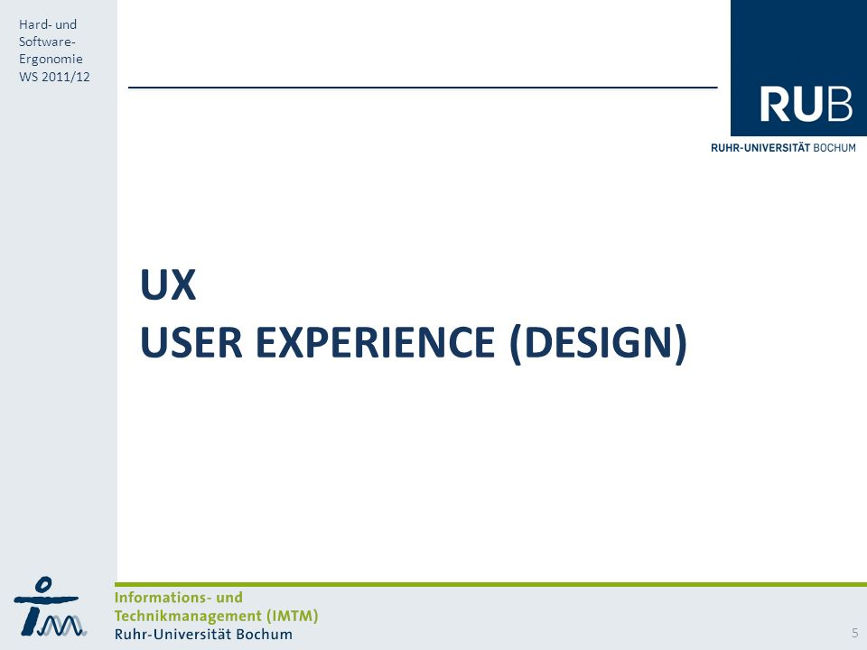 UX User Experience (Design)