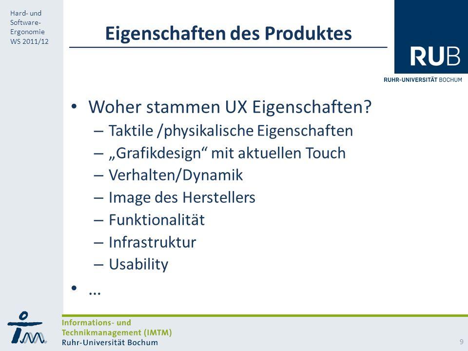 Eigenschaften des Produktes