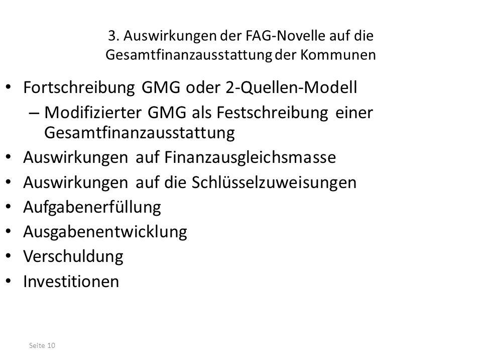 Fortschreibung GMG oder 2-Quellen-Modell
