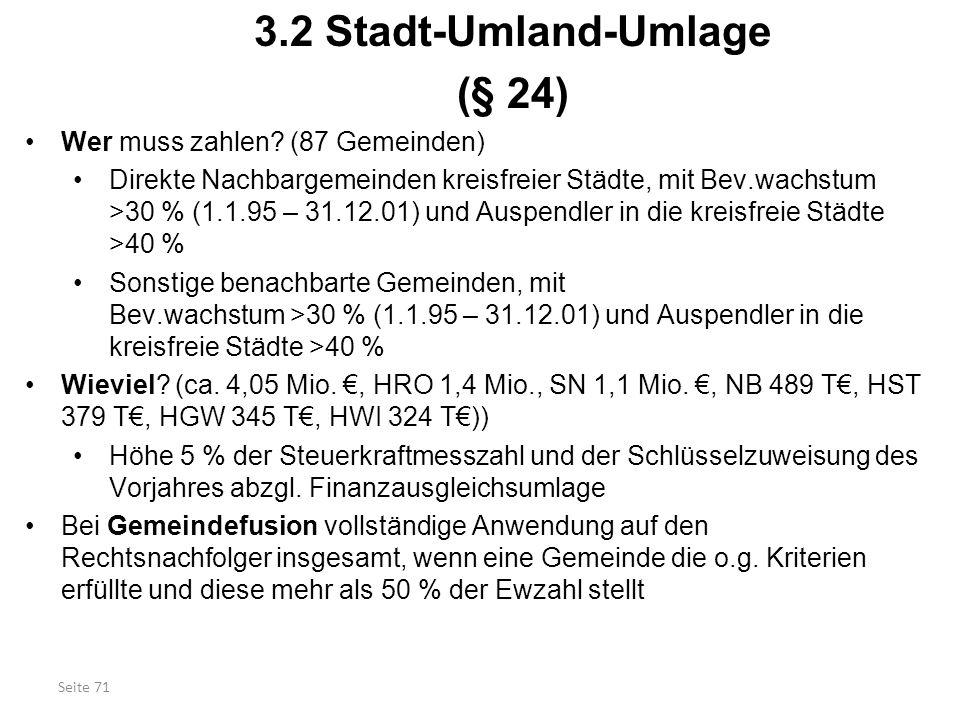 3.2 Stadt-Umland-Umlage (§ 24)