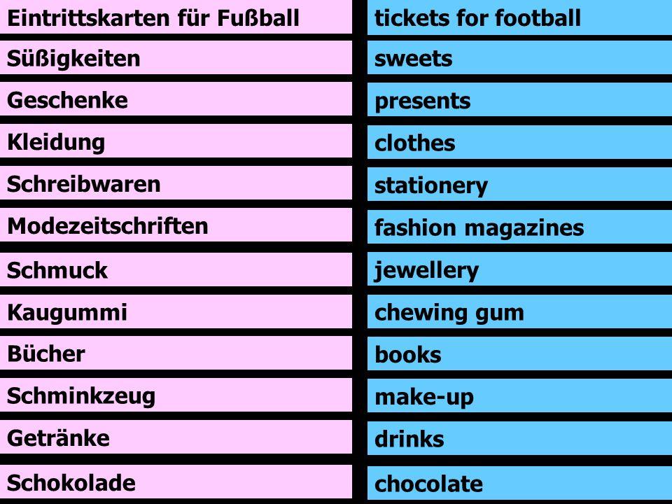 Eintrittskarten für Fußball