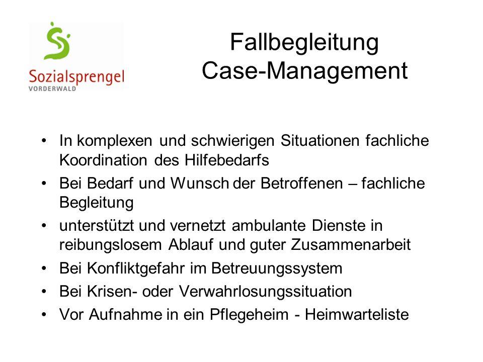 Fallbegleitung Case-Management