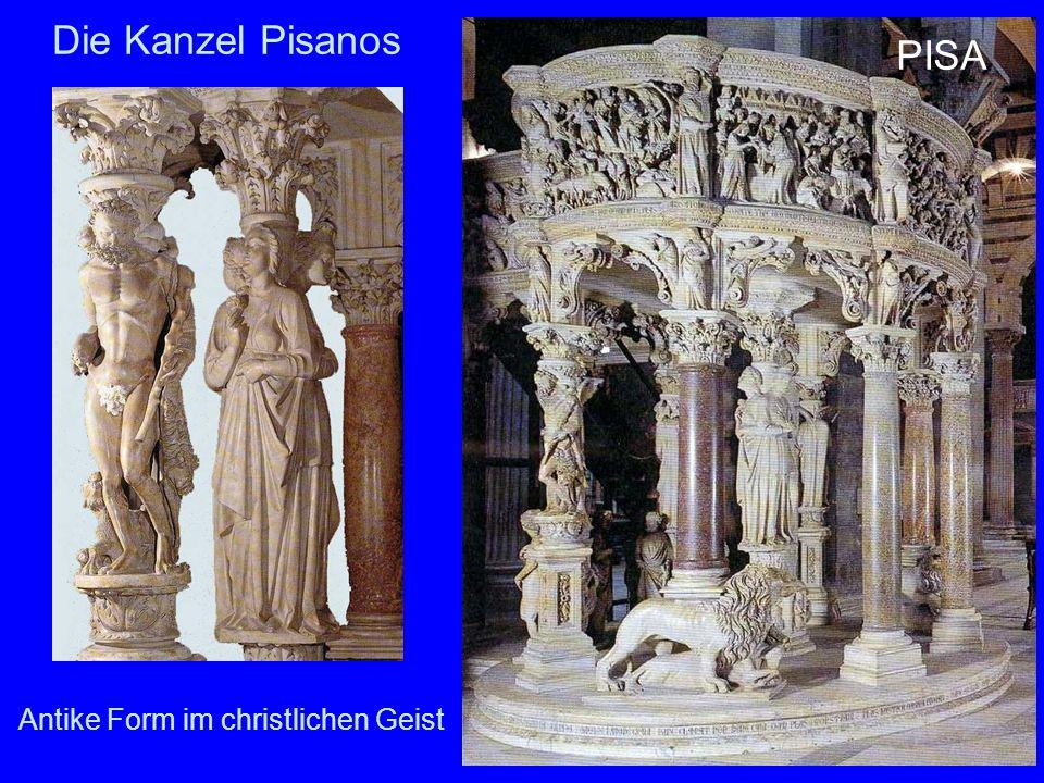 Die Kanzel Pisanos PISA Antike Form im christlichen Geist