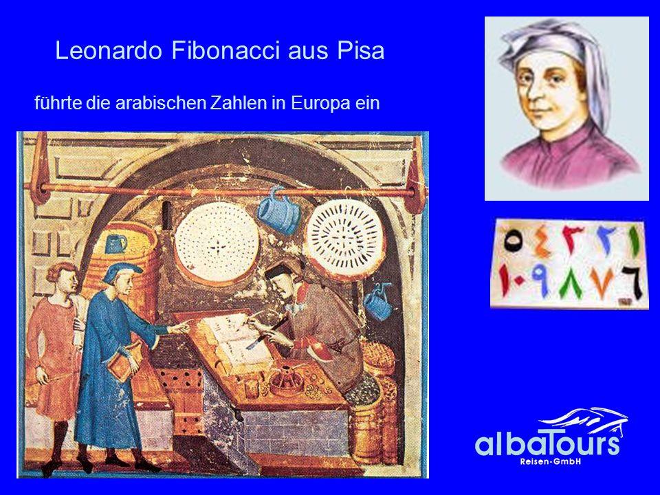 Leonardo Fibonacci aus Pisa