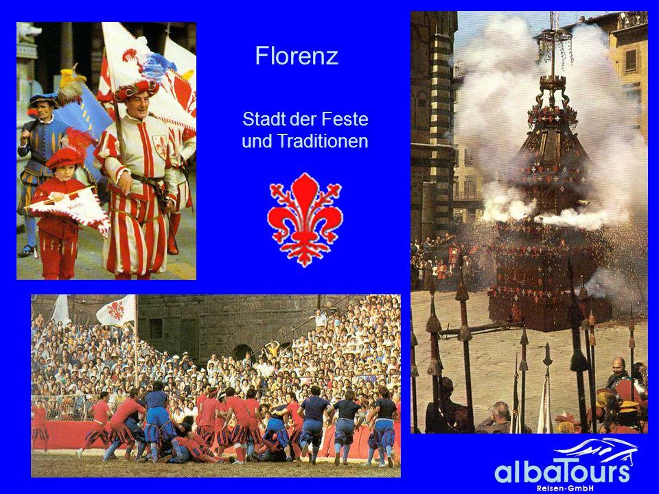 Stadt der Feste und Traditionen