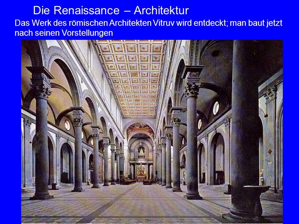 Die Renaissance – Architektur